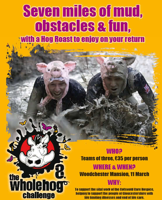 Cotswolds Care Hospice Wholehog Challenge