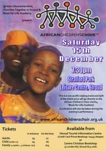 African Choir Event at Stroud poster