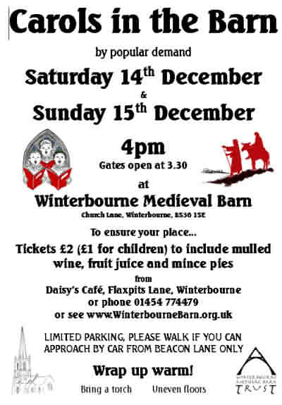 Winterbourne Barn Carols