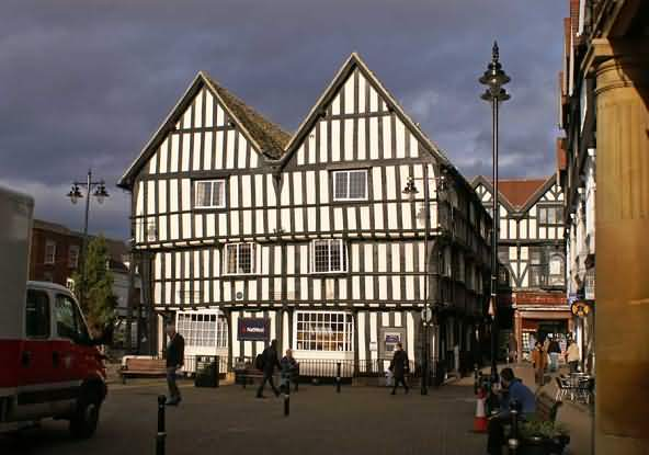 The market town of Evesham