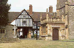 Abbot Reginald's Gateway in Evesham