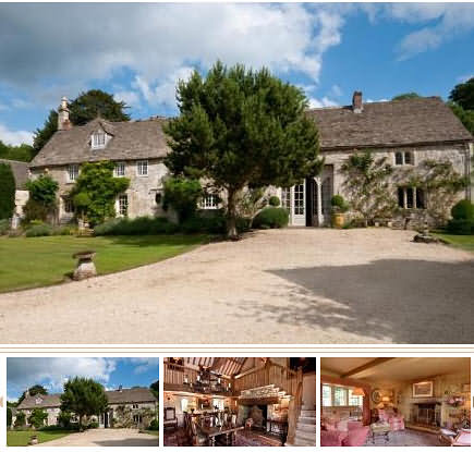 Lily Allen's new Cotswolds House at Overtown
