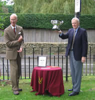 Bledisloe Cup for Best Kept village being awarded to the village of Somerford Keynes in 2004
