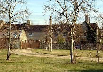 Cotswold home of Kate Moss