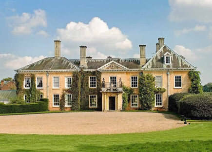 Donnington Manor home of Liz Hurley