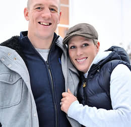 Zara Phillips & Mike Tindall