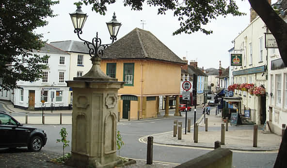 The Oxfordshire town of Faringdon