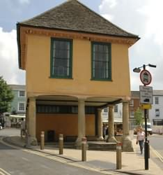 The Market Hall has had an unusual past. It was built some time in the 17th century.