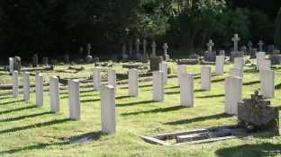 War Graves at church of St. George, Fovant