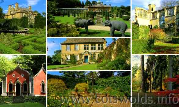 Gardens open to the public inthe Cotswolds