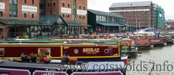 Gloucester Docks are a big tourist attraction