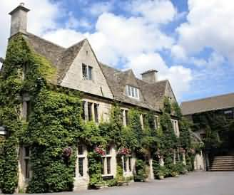 Hatton Court Hotel located between Gloucester and Painswick