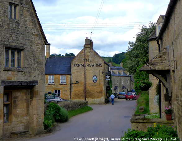 The village of Guiting Power