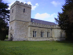 Shobdon Church dedicated to St. John the Evangelist
