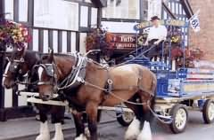 Herefordshire is famous for its Cider making - Westons Cider Dray