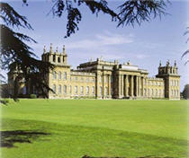 Blenheim Palace at Woodstock, Oxfordshire