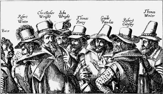 Gun Powder Plot conspirators