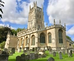 St Mary's Church at Fairford