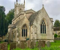 St Nicholas church at Chadlington