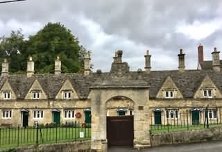 Alms Houses at Chipping Norton