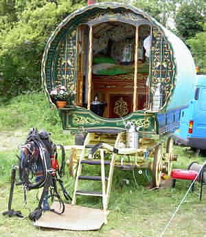 Typical Romany Caravan