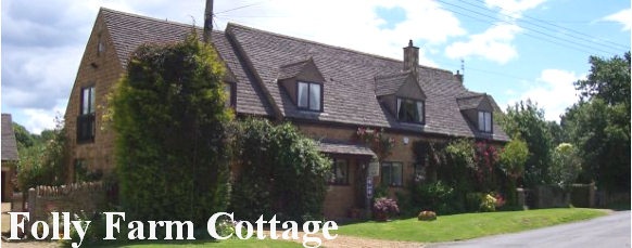 Folly Farm Cottage exterior view