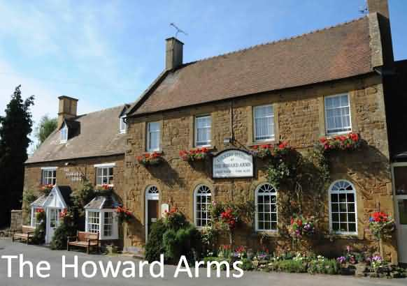 exterior viw of Howard Arms