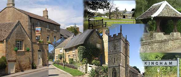 Cotswold village of Kingham in the Oxfordshire Cotswolds