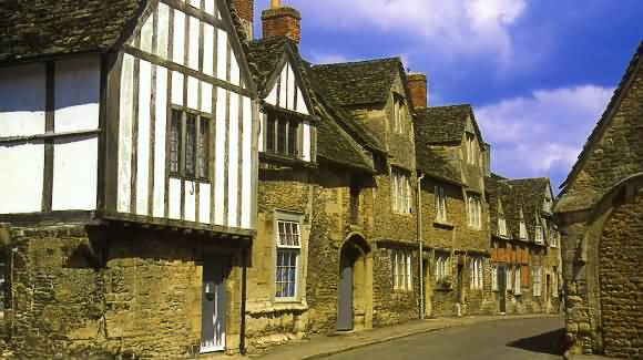 Lacock Village in Wiltshire