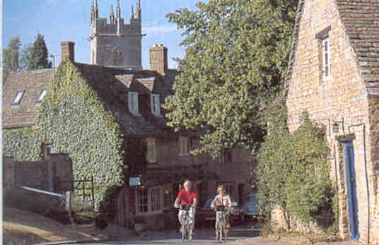 Typical ancient Cotswold Village