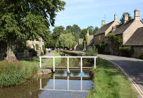 Cotswolds village of Lower Slaughter