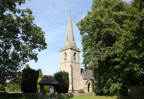 St Mary's Church in Lower Slaughter