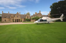 Helicopter facilities at Abbots Grange