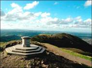 Worcester Beacon on the Malvern Hills