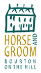 Horse and Groom Inn at Bourton-on-the-Hill near Moreton-in-Marsh