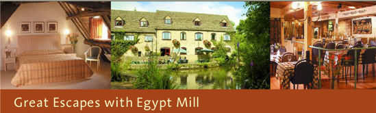 Egypt Mill Hotel at Nailsworth