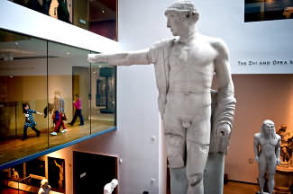 Inside the new Ashmolean museum