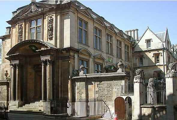 The old Ashmolean museum