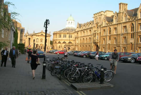 Broad Street Oxford