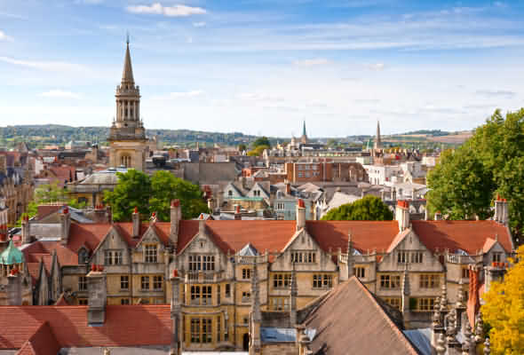 High level view of the City of Oxford