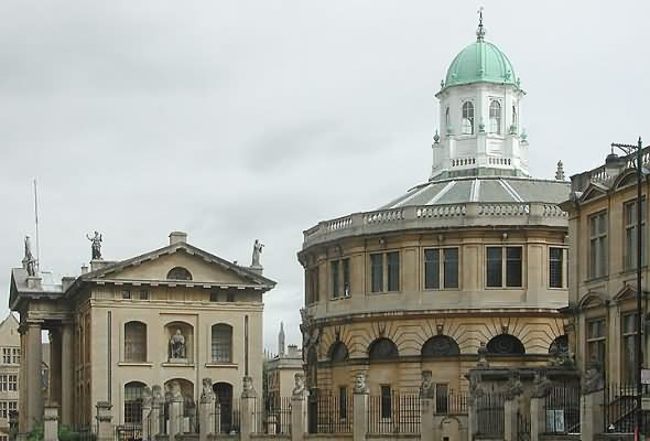 The Sheldonian and Clarendon Building