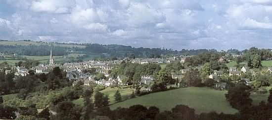Painswick, Queen of the Cotswolds