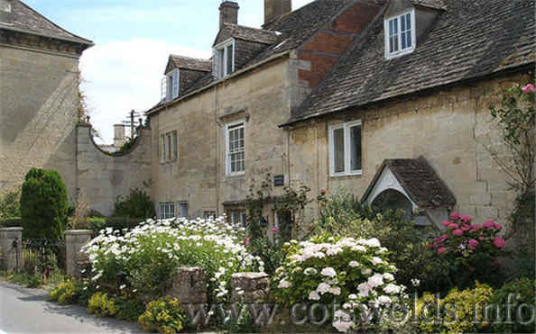The Cotswolds village of Painswick