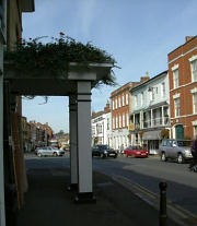 Bridge Street in Pershore