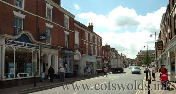 The Worcestershire market town of Pershore