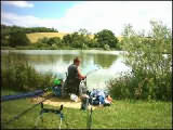 Fishing on one of the Five lakes on offer at Lemington Lakes, Todenham Road, Moreton-in-Marsh, Gloucestershire