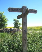 Cotswold Way Walk signpost