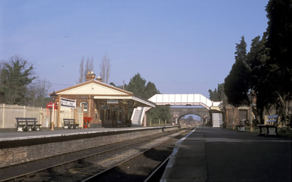 Gloucestershire & Warwickshire Steam Railway Station at Toddington near Broadway in the North Cotswolds