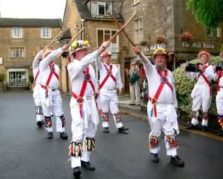 Morris Dancers in the Cotswolds