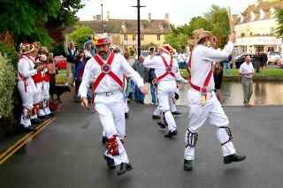 Morris Dancers at Bourton-on-the-Water